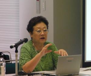 神戸大学名誉教授 水野マリ子先生